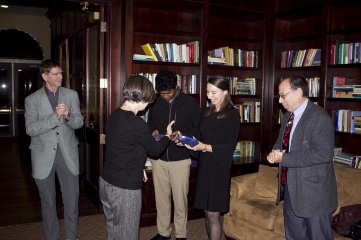 Cooper lab awardees receive their awards