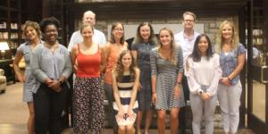 Dr. Bronner with our Ribble awardees and their mentors