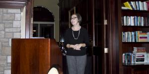 Associate chair, Dr. Morris speaks
